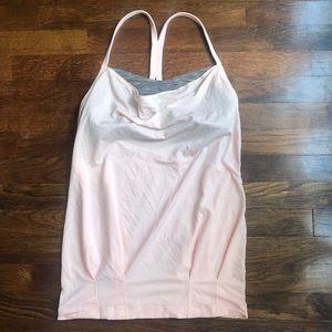 Lululemon light pink gym tank top